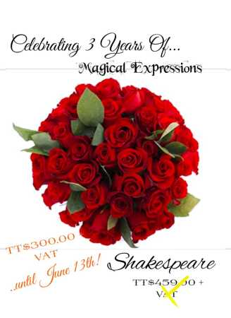 Shakespeare Hand-Tied Bouquet