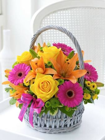 A Basket of Birthday Wishes