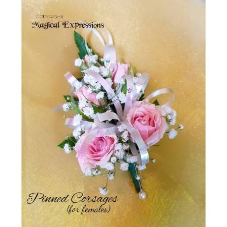 Pinned Corsages